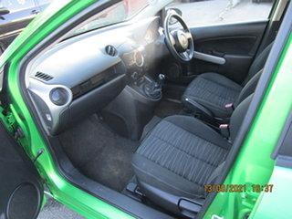 2009 Mazda 2 DE Neo Acid Green 5 Speed Manual Hatchback