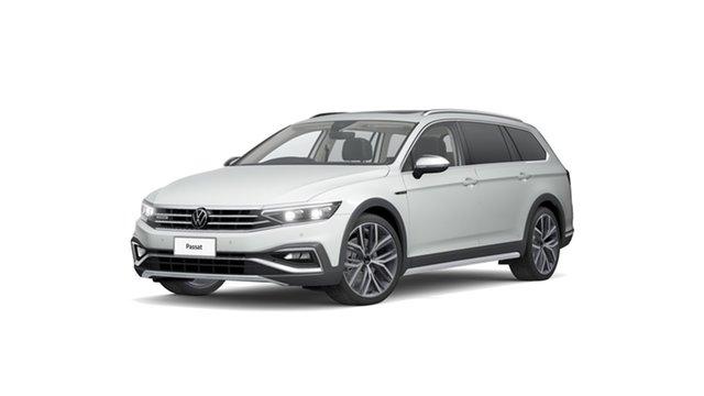 New Volkswagen Passat B8 Hamilton, 2021 Volkswagen Passat B8 162TSI Premium Pure White 7 Speed Semi Auto SUV