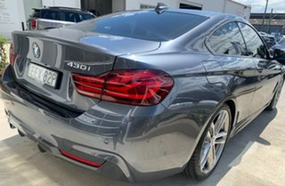 2019 BMW 4 Series F32 LCI 430i M Sport Mineral Grey 8 Speed Sports Automatic Coupe