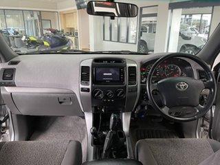 2006 Toyota Landcruiser Prado KDJ120R GXL Silver 5 Speed Automatic Wagon