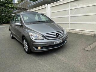 2007 Mercedes-Benz B-Class W245 MY08 B200 Turbo Grey 7 Speed Constant Variable Hatchback.