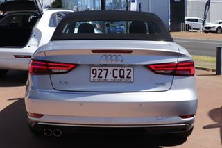 2016 Audi A3 8V MY17 Sport S Tronic Silver 7 Speed Sports Automatic Dual Clutch Cabriolet
