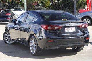 2017 Mazda 3 BN5238 SP25 SKYACTIV-Drive Black 6 Speed Sports Automatic Sedan.