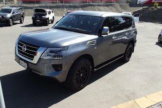 2020 Nissan Patrol Y62 Series 5 MY20 TI Grey 7 Speed Sports Automatic Wagon.