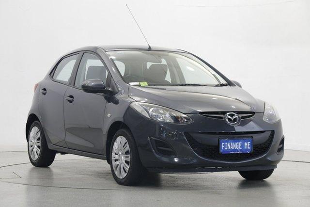 Used Mazda 2 DE10Y2 MY13 Neo Victoria Park, 2013 Mazda 2 DE10Y2 MY13 Neo Grey 4 Speed Automatic Hatchback