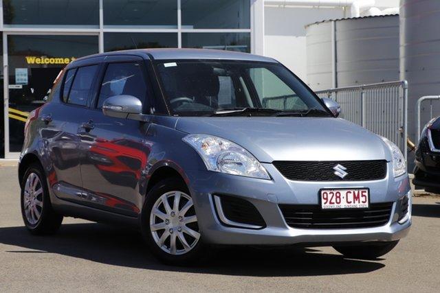 Used Suzuki Swift FZ MY14 GL Toowoomba, 2014 Suzuki Swift FZ MY14 GL Blue 5 Speed Manual Hatchback