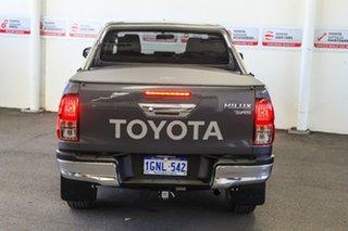 2018 Toyota Hilux GUN126R MY17 SR5 (4x4) Graphite 6 Speed Manual Dual Cab Utility