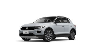 2020 Volkswagen T-ROC A1 110TSI Style White Silver 8 Speed Automatic SUV.
