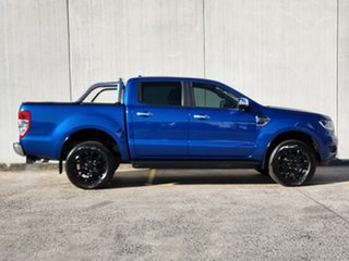 2020 Ford Ranger PX MkIII 2020.25MY XLT Blue 6 Speed Sports Automatic Double Cab Pick Up