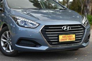 2017 Hyundai i40 VF4 Series II Active Tourer D-CT Blue 7 Speed Sports Automatic Dual Clutch Wagon
