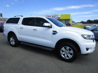2018 Ford Ranger PX MkII 2018.00MY XLT Double Cab White 6 Speed Sports Automatic Utility.