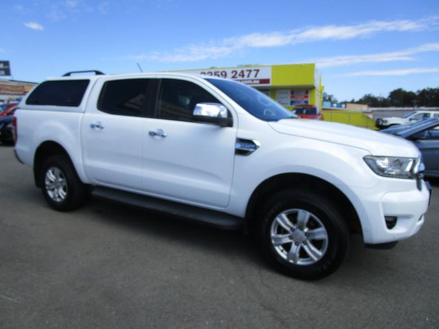 Used Ford Ranger PX MkII 2018.00MY XLT Double Cab Kedron, 2018 Ford Ranger PX MkII 2018.00MY XLT Double Cab White 6 Speed Sports Automatic Utility