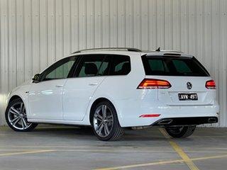 2018 Volkswagen Golf 7.5 MY18 110TSI DSG Highline White 7 Speed Sports Automatic Dual Clutch Wagon.