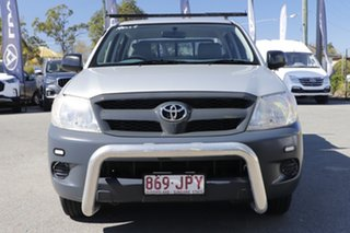 2006 Toyota Hilux TGN16R MY07 Workmate 4x2 Sterling Silver 5 Speed Manual Utility