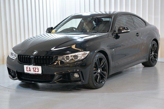 Used BMW 4 Series F32 435i Hendra, 2013 BMW 4 Series F32 435i Black 8 Speed Sports Automatic Coupe
