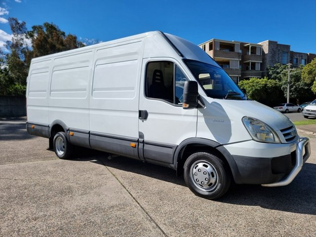 Used Iveco Daily Homebush West, 2010 Iveco Daily 50C18 White Refrigerated 3.0l