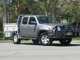 2010 Mazda BT-50 UNY0E4 SDX Grey 5 Speed Manual Utility.