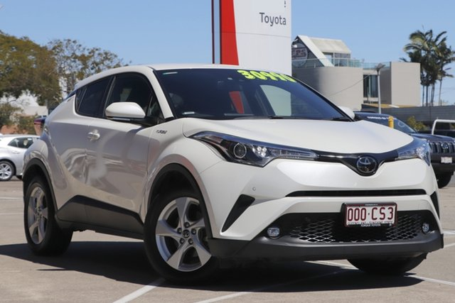 Pre-Owned Toyota C-HR NGX10R S-CVT 2WD Albion, 2019 Toyota C-HR NGX10R S-CVT 2WD Crystal Pearl 7 Speed Constant Variable Wagon