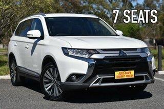 2018 Mitsubishi Outlander ZL MY19 LS AWD White 6 Speed Sports Automatic Wagon.