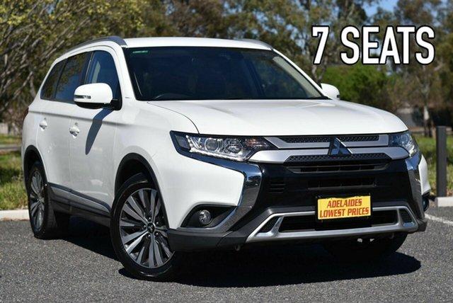 Used Mitsubishi Outlander ZL MY19 LS AWD Morphett Vale, 2018 Mitsubishi Outlander ZL MY19 LS AWD White 6 Speed Sports Automatic Wagon