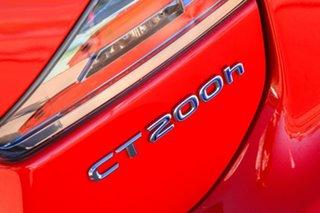 2017 Lexus CT ZWA10R MY16 CT200h Luxury Red 1 Speed Constant Variable Hatchback Hybrid