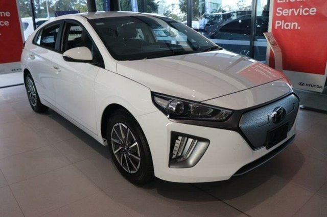 New Hyundai Ioniq AE.V4 MY21 electric Elite Augustine Heights, 2021 Hyundai Ioniq AE.V4 MY21 electric Elite Polar White 1 Speed Reduction Gear Fastback