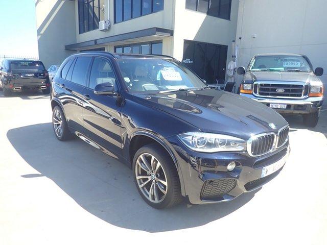 Used BMW X5 F15 xDrive30d Wangara, 2013 BMW X5 F15 xDrive30d Carbon Black 8 Speed Automatic Wagon