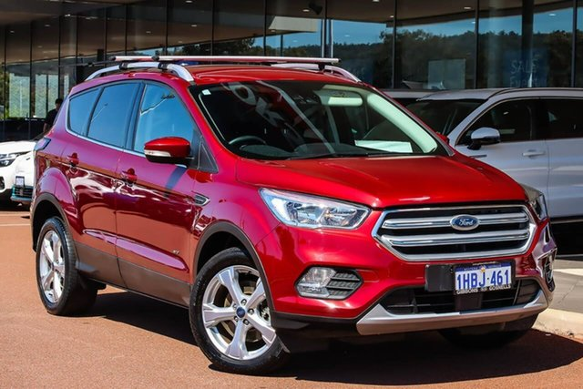 Used Ford Escape ZG 2018.00MY Trend Gosnells, 2018 Ford Escape ZG 2018.00MY Trend Red 6 Speed Sports Automatic Dual Clutch SUV