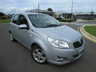 2010 Holden Barina TK MY10 Silver 5 Speed Manual Sedan.