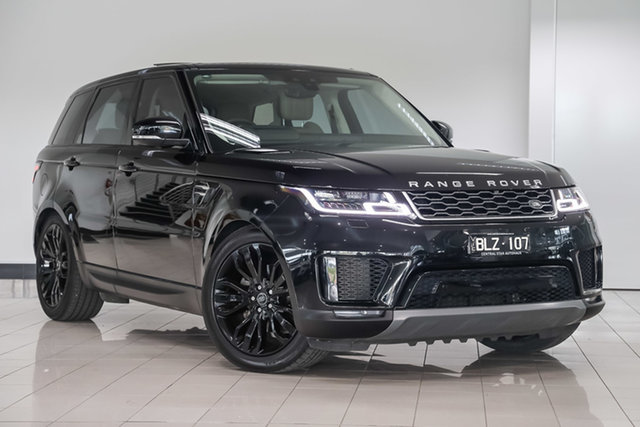 Used Land Rover Range Rover Sport L494 19.5MY SE , 2019 Land Rover Range Rover Sport L494 19.5MY SE Black 8 Speed Sports Automatic Wagon