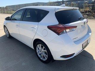 2018 Toyota Corolla ZWE186R Hybrid E-CVT White/300718 1 Speed Constant Variable Hatchback Hybrid