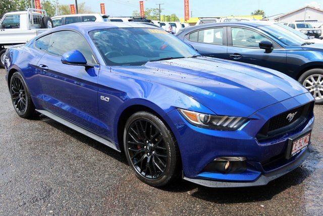 Used Ford Mustang FM GT Fastback Winnellie, 2015 Ford Mustang FM GT Fastback Blue 6 Speed Manual Fastback