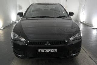 2013 Mitsubishi Lancer CJ MY13 ES Black 5 Speed Manual Sedan.