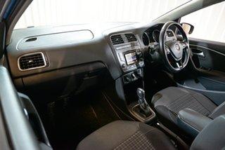2014 Volkswagen Polo 6R MY15 81TSI DSG Comfortline Blue 7 Speed Sports Automatic Dual Clutch