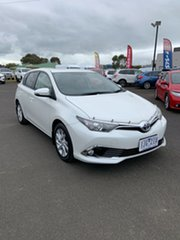 2016 Toyota Corolla ZRE182R Ascent S-CVT Blizzard 7 Speed Constant Variable Hatchback.