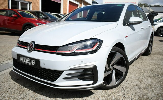 Used Volkswagen Golf 7.5 MY18 GTI DSG Narrabeen, 2017 Volkswagen Golf 7.5 MY18 GTI DSG White 6 Speed Sports Automatic Dual Clutch Hatchback