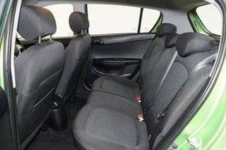 2012 Hyundai i20 PB MY12 Active Electric Green 4 Speed Automatic Hatchback