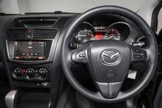 2018 Mazda BT-50 UR0YE1 XT 4x2 Hi-Rider Black 6 Speed Sports Automatic Cab Chassis