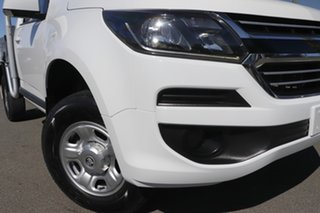 2016 Holden Colorado RG MY17 LS 4x2 Summit White 6 Speed Manual Cab Chassis.