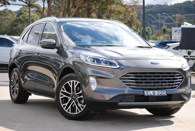 Used Ford Escape ZH 2020.75MY West Gosford, 2020 Ford Escape ZH 2020.75MY Grey 8 Speed Sports Automatic SUV