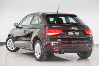 2011 Audi A1 8X MY11 Attraction S Tronic Red 7 Speed Sports Automatic Dual Clutch Hatchback.
