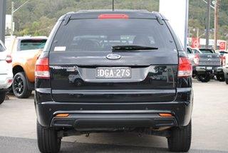 2016 Ford Territory SZ MkII TX Seq Sport Shift Black 6 Speed Sports Automatic Wagon.
