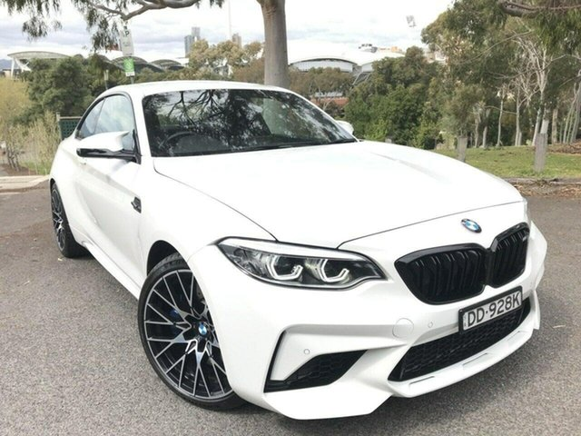 Used BMW M2 F87 LCI Competition M-DCT Adelaide, 2018 BMW M2 F87 LCI Competition M-DCT White 7 Speed Sports Automatic Dual Clutch Coupe