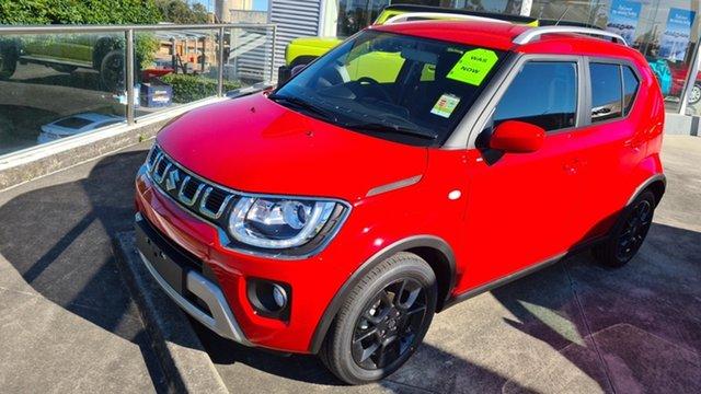 Demo Suzuki Ignis Moorooka, 2021 Suzuki Ignis IGNIS1 IGNIS GLX AUTO Fervent Red Hatchback
