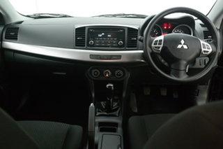 2013 Mitsubishi Lancer CJ MY13 ES Black 5 Speed Manual Sedan