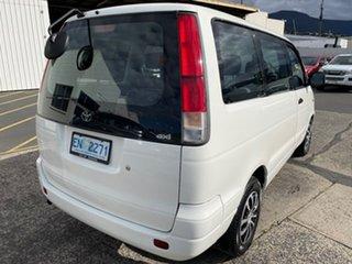 2001 Toyota Spacia SR40R White 4 Speed Automatic Wagon