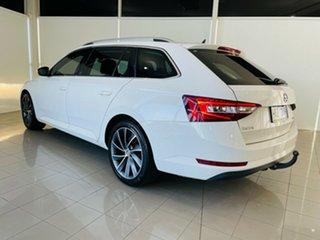 2016 Skoda Superb NP MY16 162TSI DSG White 6 Speed Sports Automatic Dual Clutch Wagon.