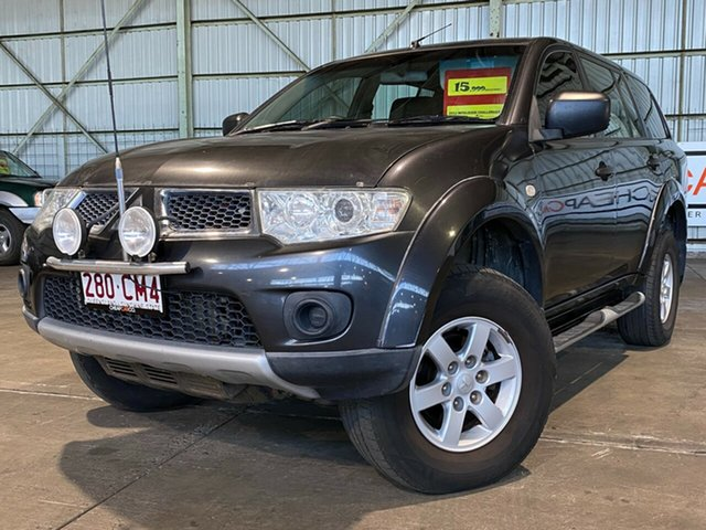 Used Mitsubishi Challenger PB (KH) MY11 LS Rocklea, 2011 Mitsubishi Challenger PB (KH) MY11 LS Grey 5 Speed Sports Automatic Wagon