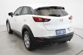 2018 Mazda CX-3 DK2W7A Maxx SKYACTIV-Drive FWD Sport White 6 Speed Sports Automatic Wagon.