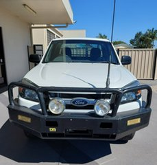 2011 Ford Ranger PK XL White 5 Speed Manual Cab Chassis.